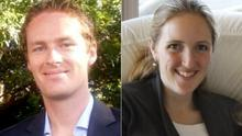 Tori Johnson, 34, the manager of Lindt Chocolat Cafe (left) and barrister Katrina Dawson, 38, who were both tragically killed in an armed siege at a coffe shop in Sydney