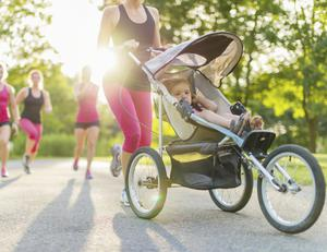 A good way to get back into an exercise routine is by doing some prenatal core exercises.