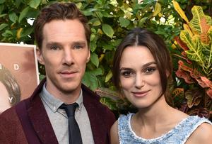 "Benedict Cumberbatch and Keira Knightley attend The Weinstein Company ""The Imitation Game"" brunch. Photo credit: John Shearer/Invision for The Weinstein Company/AP Images"