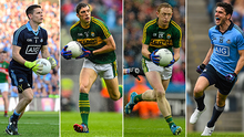 L-R - Stephen Cluxton, David Moran, Colm Cooper and Bernard Brogan