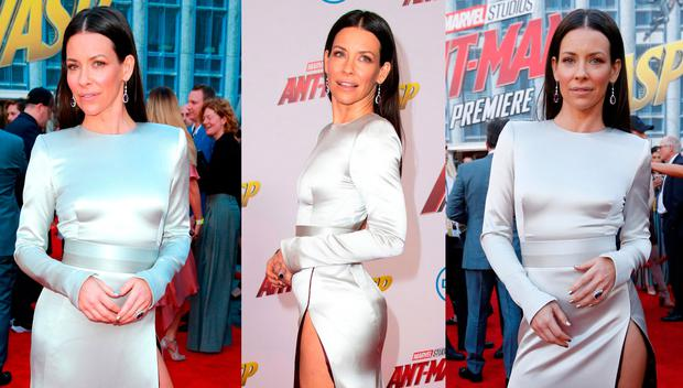 Evangeline Lilly at the Ant-Man and The Wasp premiere