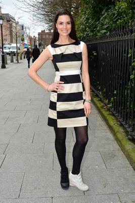 Model Alison Canavan: 'I loved the dress from the front'