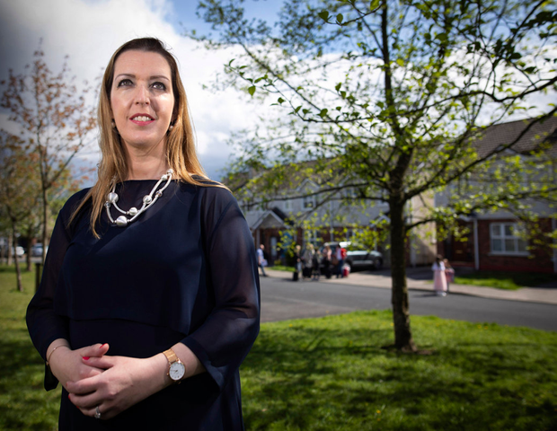 STRENGTH: Vicky Phelan photographed in Limerick yesterday Photo: Fergal Phillips