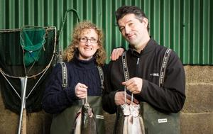 MAG & GER KIRWAN Goatsbridge Trout Farm, Thomastown, Co Kilkenny