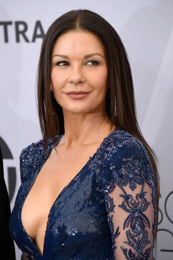 WELSH ROSE: Catherine Zeta-Jones