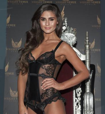 Model Lynn Kelly launches Ann Summers SS15 collection ahead of Valentines Day