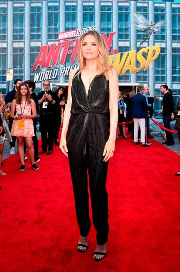 """Michelle Pfeiffer attends the Los Angeles Global Premiere for Marvel Studios' """"Ant-Man And The Wasp"""" at the El Capitan Theatre on June 25, 2018 in Hollywood, California.  (Photo by Alberto E. Rodriguez/Getty Images for Disney)"""