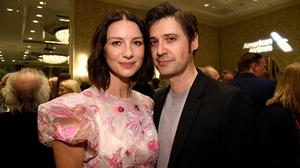 Caitriona Balfe (L) and Tony McGill attends The BAFTA Los Angeles Tea Party at Four Seasons Hotel Los Angeles at Beverly Hills on January 5, 2019 in Los Angeles, California.  (Photo by Kevork Djansezian/BAFTA LA/Getty Images)