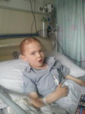 Sebastain McLoughlin (4) has been diagnosed with a brain tumour earlier this year and now has only weeks to live.