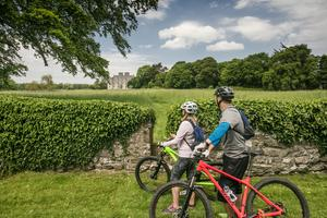 Cycling in Portumna, Galway