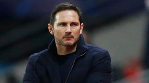 Frank Lampard looks set to move behind Jose Mourinho in the list of longest-serving managers under Roman Abramovich. Photo: Reuters