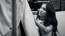 Meghan, Duchess of Sussex, Patron of Smart Works, is pictured in the workroom of the Smart Works, London office in this undated handout image released by Kensington Palace on July 28, 2019. @SussexRoyal/PA Wire/Handout via REUTERS