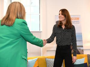 Britain's Catherine, Duchess of Cambridge visits Jigsaw, a mental health charity in Dublin, Ireland  March 4, 2020. Facundo Arrizabalaga/Pool via REUTERS