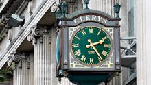 Clerys clock. Picture: Frank McGrath