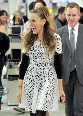 Sarah Jessica Parker presents The SJP Collection in Salon Shoes at Nordstrom in The Grove on March 6, 2014 in Los Angeles, California.  (Photo by Frazer Harrison/Getty Images)