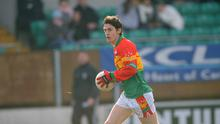 Carlow footballer Ray Walker has accepted a four-year ban over an anti-doping violation. Paul Mohan / SPORTSFILE