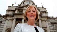 Candid: Government Chief Whip Regina Doherty outside Leinster House Photo: Tom Burke