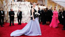 Saoirse Ronan poses on the red carpet during the Oscars arrivals at the 92nd Academy Awards in Hollywood, Los Angeles, California, U.S. REUTERS/Mike Blake