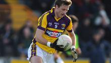 A last gasp kick from David Fogarty gave St Anne's a one point victory over Gusserane in the Wexford senior final at Wexford Park. Picture credit: Brian Lawless / SPORTSFILE
