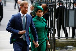 Time to reflect: Prince Harry and Meghan Markle. Photo: REUTERS/Henry Nicholls/File Photo