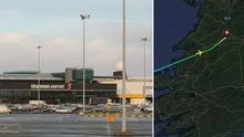 This latest diversion was the fifth that authorities at Shannon dealt with over the holiday period (Stock picture)
