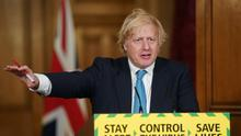 Boris Johnson is expected to announce on Tuesday plans for the hospitality sector (Pippa Fowles/10 Downing Street/PA)