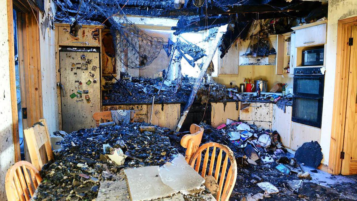A small fire that started in a fuse box destroyed this family home in four  minutes - Independent.ieIndependent.ie
