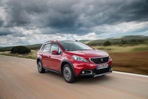 Moving nicely up-market: The Peugeot 2008, a more rugged and upright version of the well-loved 208