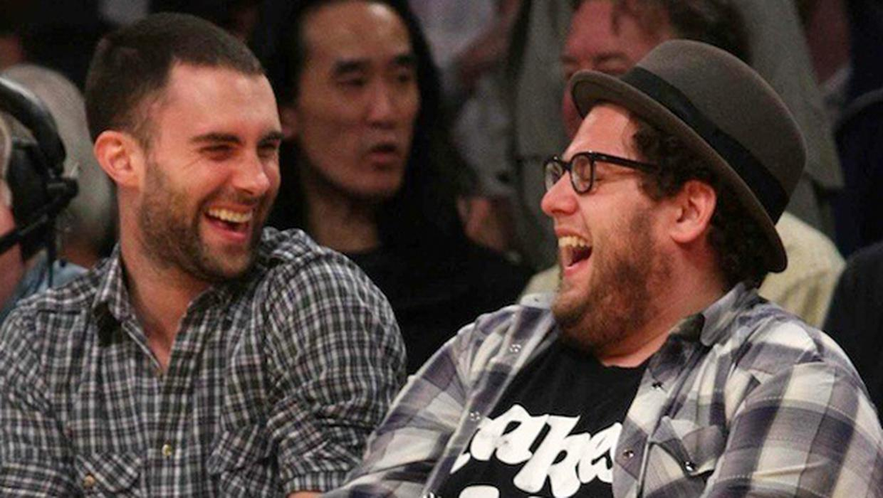 Jonah Hill officiated Adam Levine and Behati Prinsloo's marriage ...