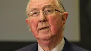 Brendan Halligan has passed away, aged 84 after a long illness  Pic: Collins Photos.