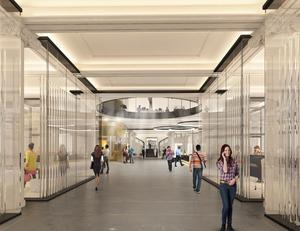 A peek at the proposed development for the Clery's building
