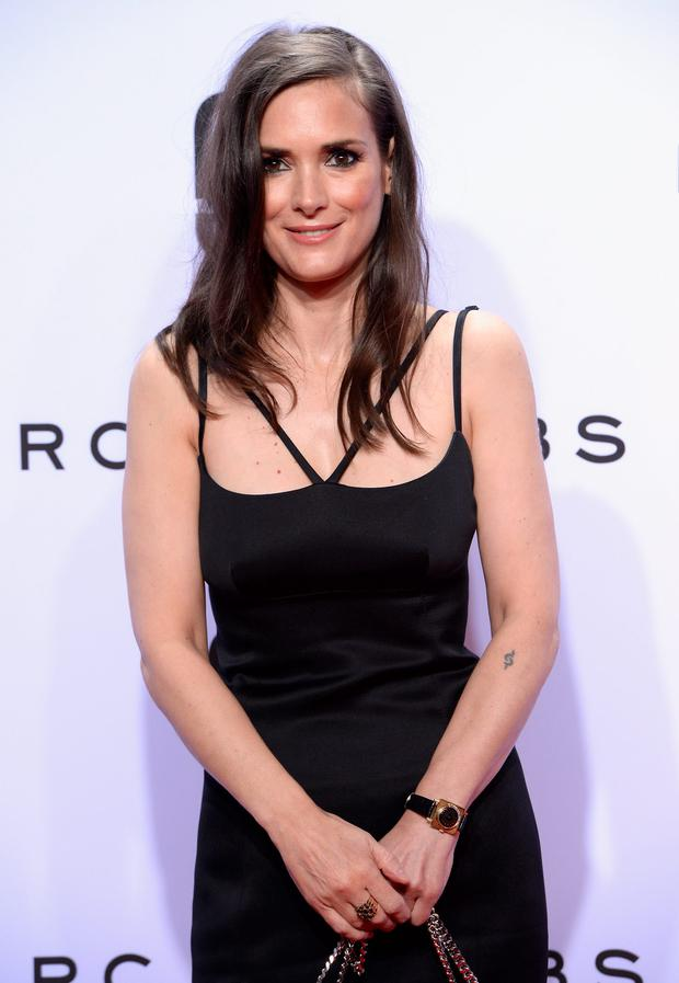 Winona Ryder attends the Marc Jacobs Spring 2016 fashion show during New York Fashion Week at Ziegfeld Theater on September 17, 2015 in New York City. (Photo by Slaven Vlasic/Getty Images)