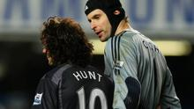 Stephen Hunt: 'I was sickened by what happened to Petr Cech in our collision in 2006 but Mourinho said I had done nothing to avoid the goalkeeper and suggested I was laughing about it afterwards.' Photo: Richard Heathcote/Getty Images