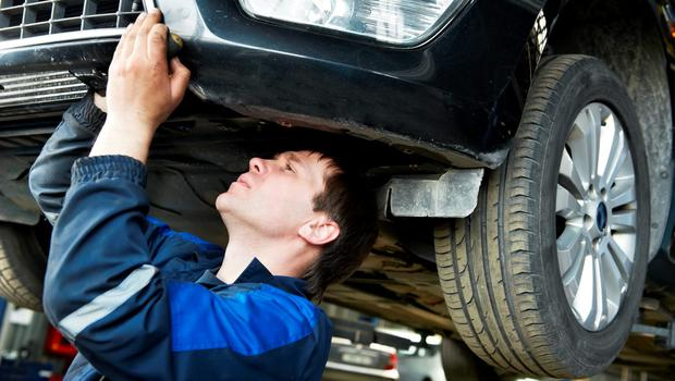 Under-body inspections are to resume at eight of the busiest NCT centres nationwide next week, contractors for the National Car Testing Service have announced. Stock Image