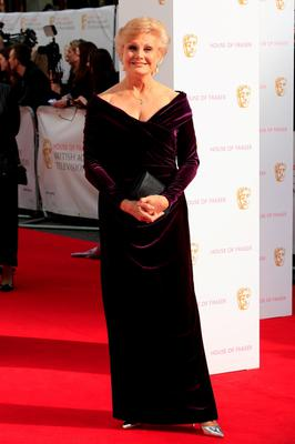 LONDON, ENGLAND - MAY 10:  Angela Rippon attends the House of Fraser British Academy Television Awards (BAFTA)  at Theatre Royal on May 10, 2015 in London, England.  (Photo by John Phillips/Getty Images)