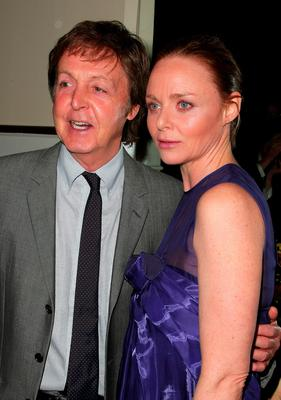Musician Paul McCartney and fashion designer Stella McCartney attend the Natural Resources Defense Council's 11th Annual `Forces For Nature' Benefit at 583 Park Avenue on March 30, 2009 in New York City.  (Photo by Andrew H. Walker/Getty Images)