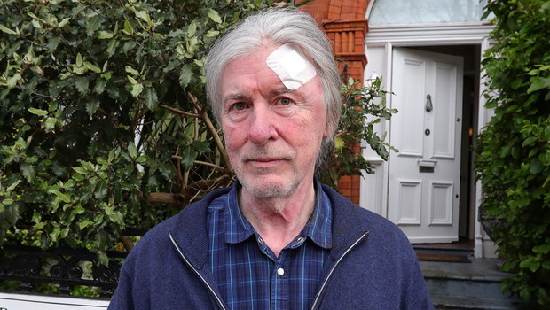 Colm Henry, the victim of a hammer attack