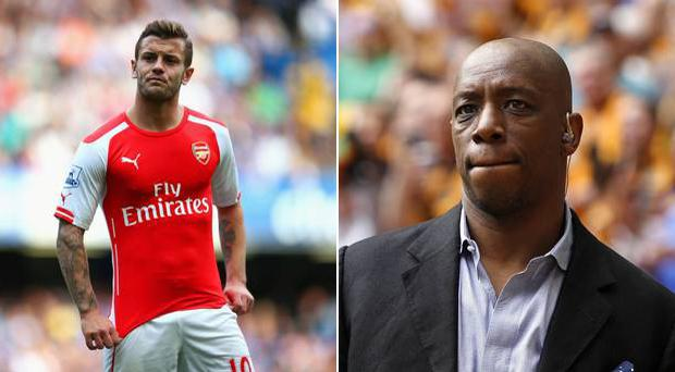 Ian Wright has some tough advice for Jack Wilshere
