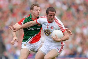 Tyrone have said speculation suggesting Stephen O'Neill has retired from inter-county football are wide of the mark. Photo: Stephen McCarthy / SPORTSFILE