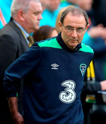 Ireland manager Martin O'Neill is pictured during the 1-1 draw against The Netherlands last Friday. Photo: PA