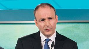 'Taoiseach Micheál Martin has promised to hit the ground running.' Photo: Gareth Chaney / Collins