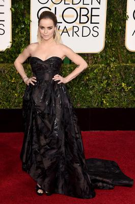 BEVERLY HILLS, CA - JANUARY 11: Actress Taryn Manning attends the 72nd Annual Golden Globe Awards at The Beverly Hilton Hotel on January 11, 2015 in Beverly Hills, California.  (Photo by Jason Merritt/Getty Images)