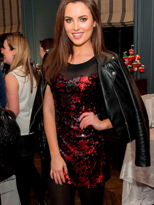 Now: Model Holly Carpenter at a Littlewoods event in The Dean, Harcourt Street