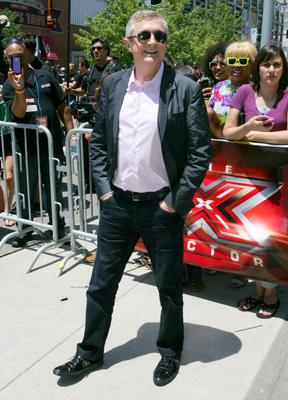 """KANSAS CITY, MO - JUNE 08:  Entertainment manager Louis Walsh attends """"The X-Factor"""" Kansas City Auditions  at Sprint Center on June 8, 2012 in Kansas City, Missouri.  (Photo by Jason Squires/WireImage)"""