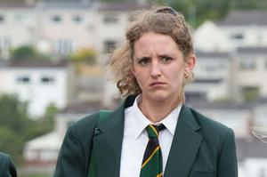 Louise Harland who plays Orla