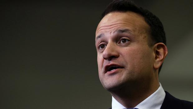 Mandate: Leo Varadkar declared he had promised voters that he will not share power with Mary Lou McDonald. Photo: REUTERS/Lorraine O'Sullivan