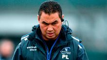 Connacht head coach Pat Lam during squad training at the Sportsground in Galway. Photo by Piaras Ó Mídheach/Sportsfile