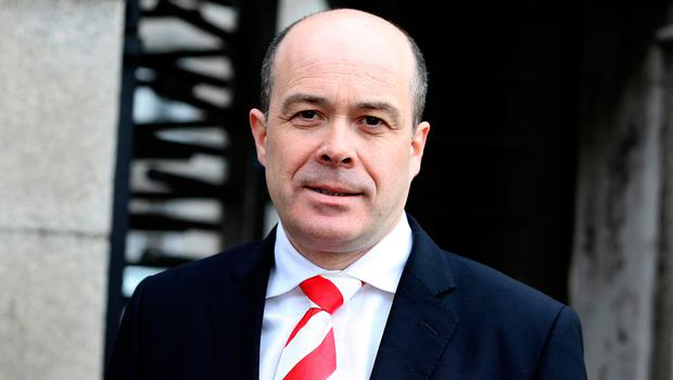 Unhappy: Communications Minister Denis Naughten