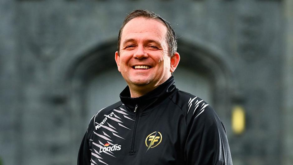 Davy Fitzgerald at the launch of the Londis sponsorship of RTÉ TV show Ireland's Fittest Family. The Wexford hurling manager has spoken on the Late Late Show about the online abuse he and his father have received. Photo: Eóin Noonan/Sportsfile