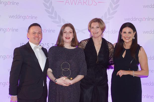 Couple photography took home the prize for overall supplier of the year at the 2018 weddingsonline awards